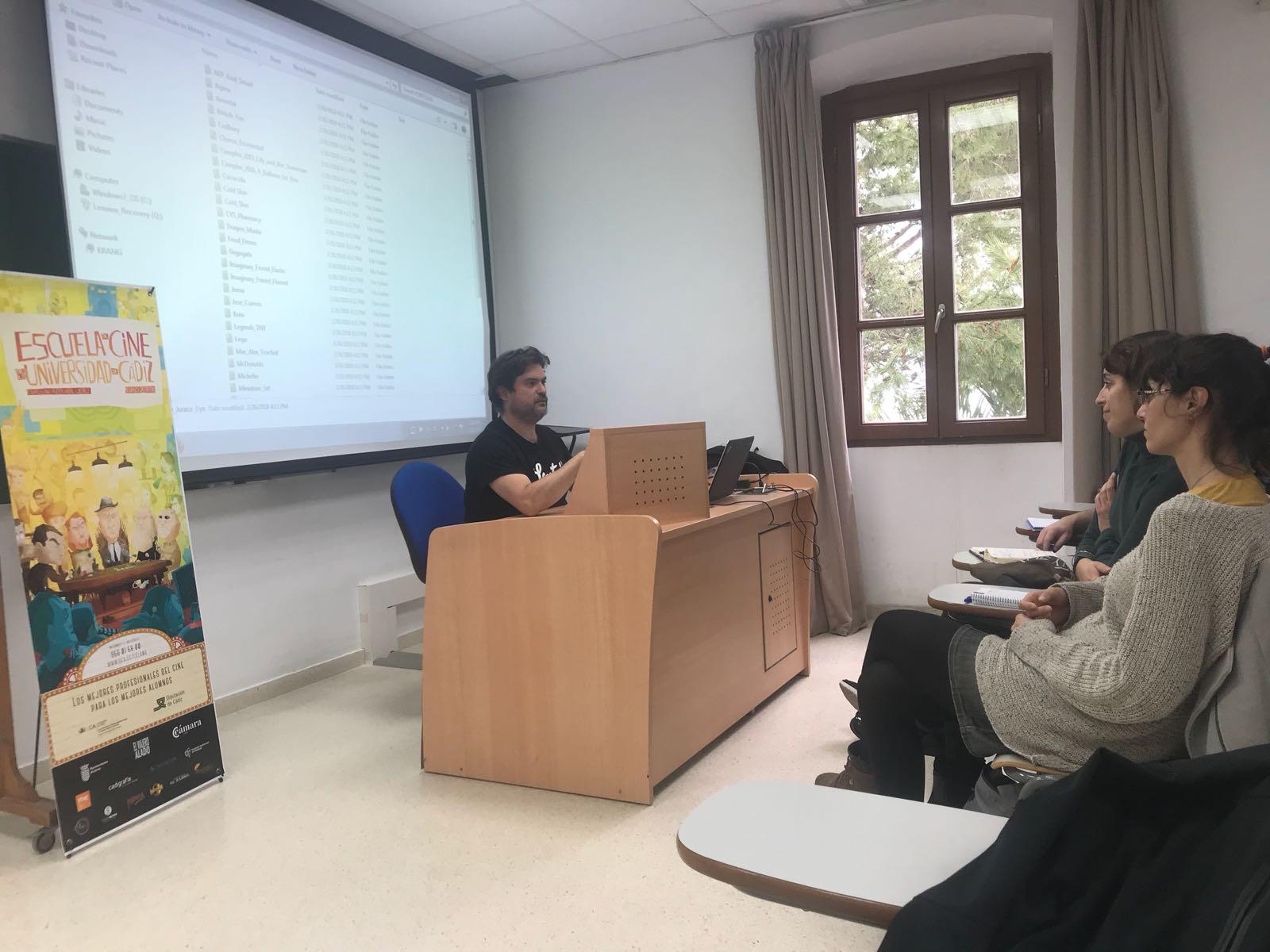 Javier León inicia su curso de animacion 3D