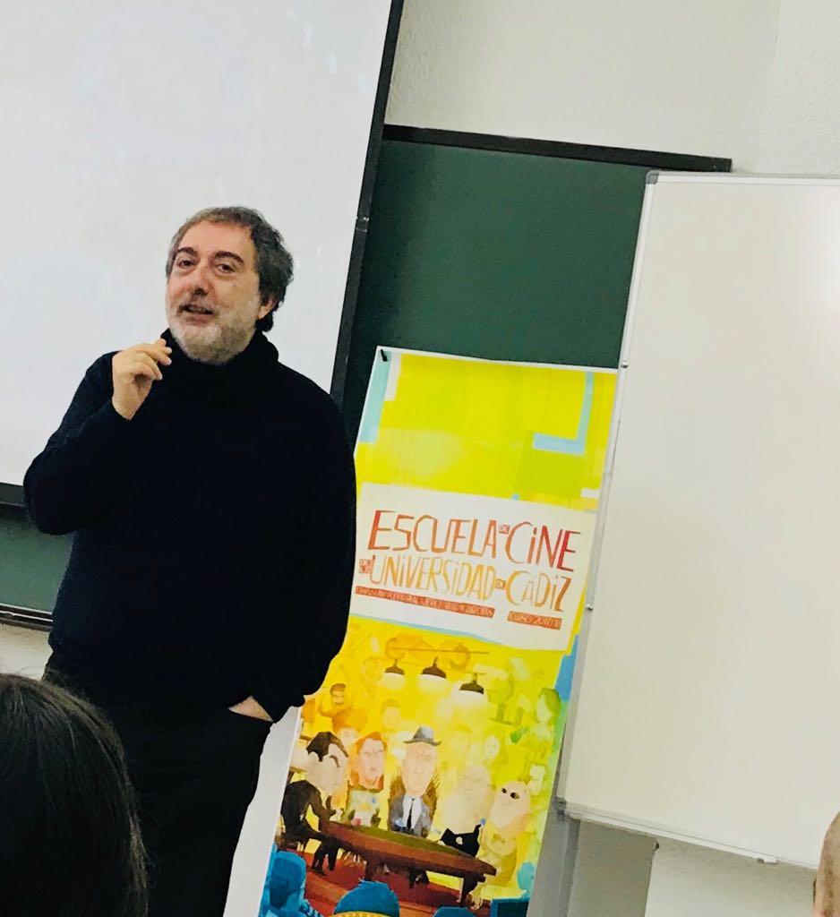 Javier Olivares empieza su curso