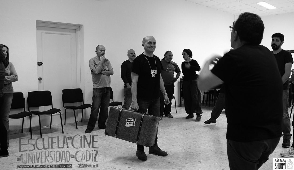 Pepe Viyuela en la Escuela de Cine