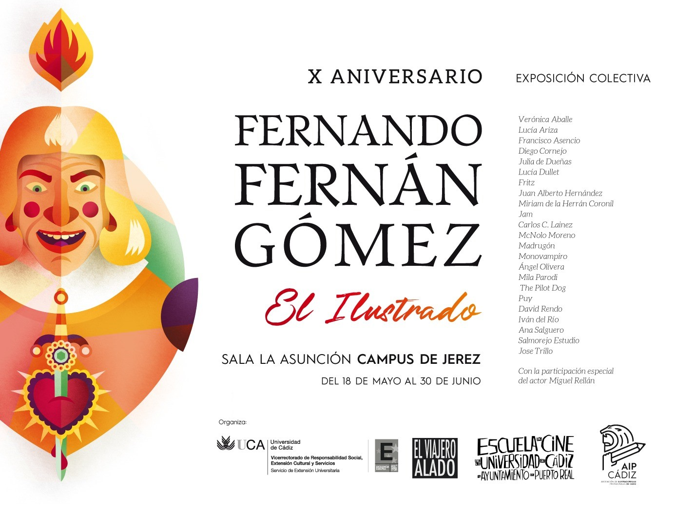 X Aniversario Fernando Fernán Gómez
